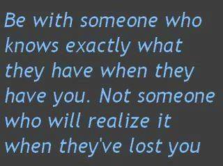 Be With Someone Who Knows Exactly what they Have