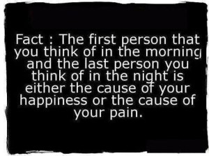 Happiness Or The Cause Of Your pain