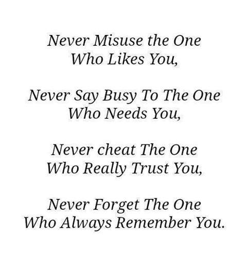 Who Needs Love Quotes: Never Say Busy To The One Who Needs You