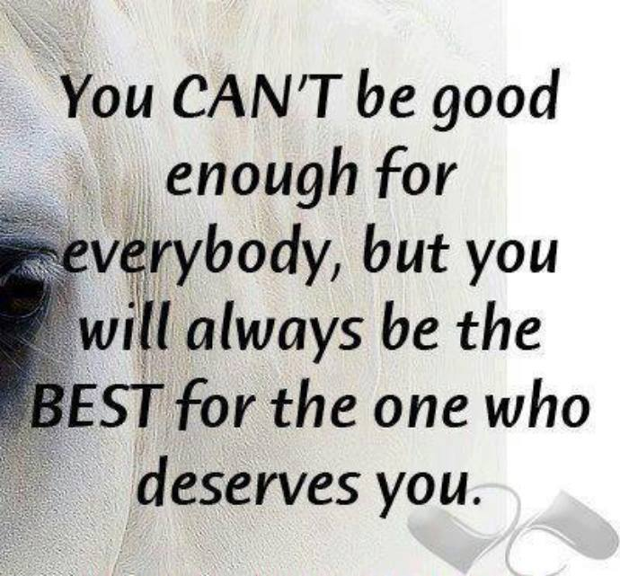 you cant be good enough for everybody love and sayings