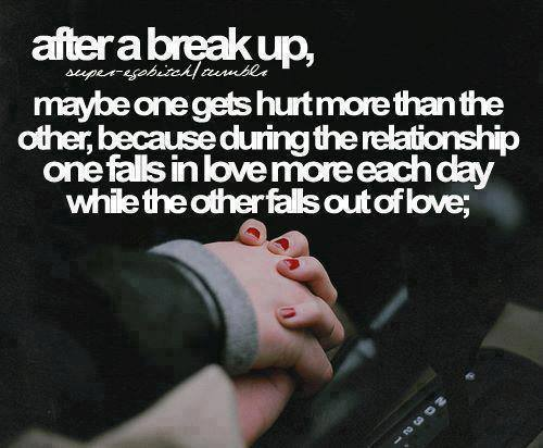 Breaking Up Quotes Sad Love: Love And Sayings