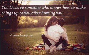 You Deserve someone Who Knows