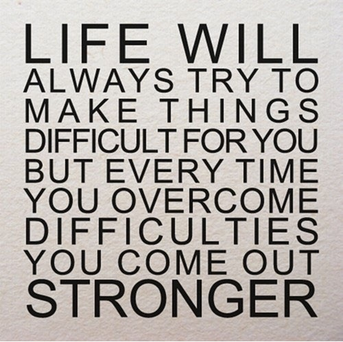 Life Will Always Try...