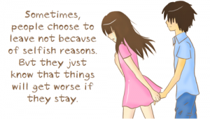 Sometimes People Choose To leave