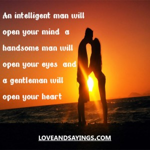 A gentleman will Open Your Mind