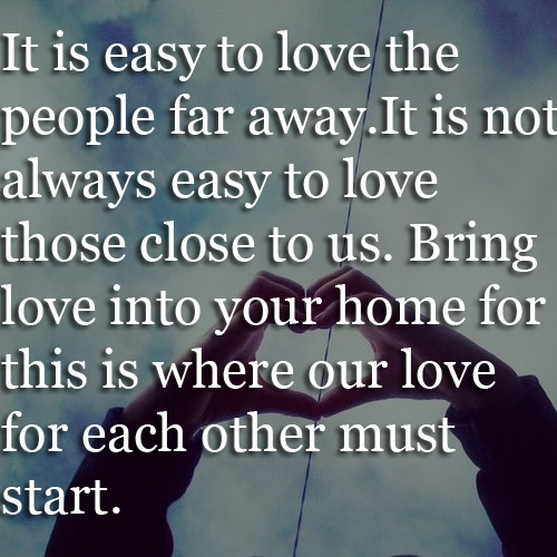 Love Quotes For Being Far Away : Quotes About Someone Far Away Quotesgram