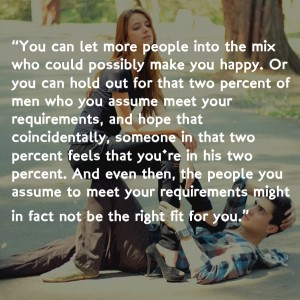 meet the requirements idioms about love