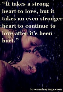 Continue To Love After it's been Hurt