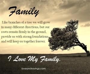 The tree of family…