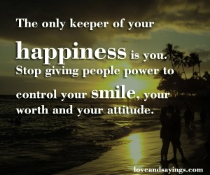 Your worth and your attitude.