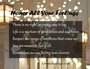 Honor All Your Feelings