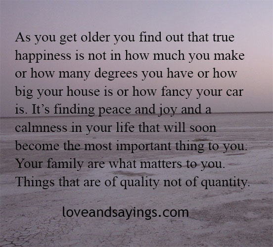 What Really Matters In Life Quotes: This Is What Really Matters.