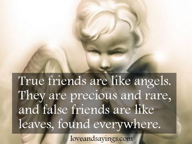 angel sayings for friends - photo #37