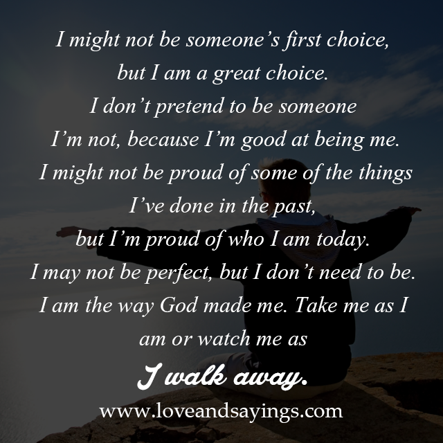 Quotes About Love Relationships: I May Not Be Perfect, But I Don't Need To Be