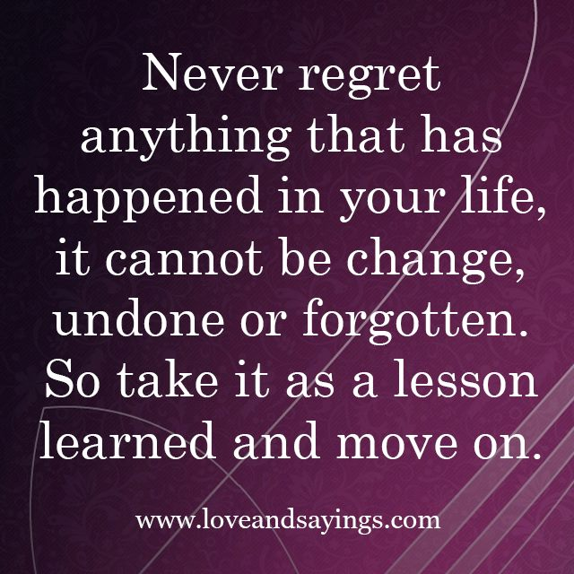 Love Quotes And Sayings About Regret. QuotesGram