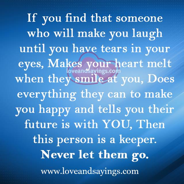 Who Will Make You Laugh Until You Have Tears In Your Eyes