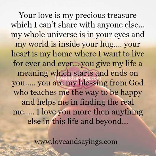 I Love You Quotes Video : Love You More Than Anything Quotes. QuotesGram