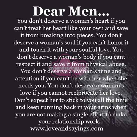 I Deserve A Good Man Quotes: You Dont Deserve Her Quotes. QuotesGram