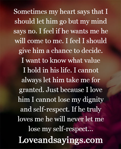 just because i love him love and sayings