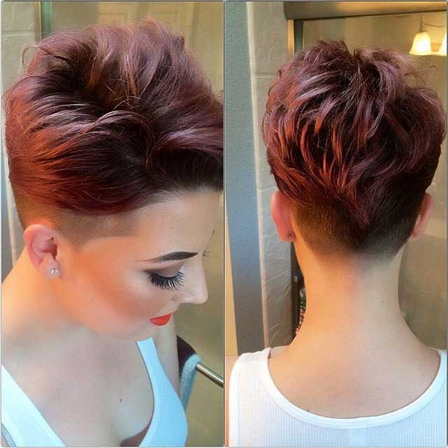 Short haircuts with crazy colours Love and Sayings