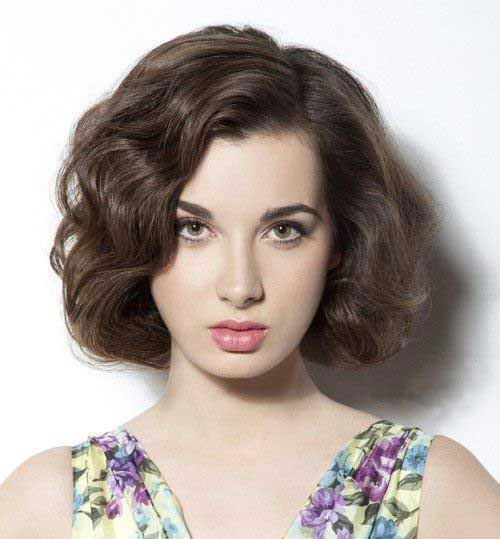 Cute Short Hairstyle for Thick Wavy Hair Love and Sayings