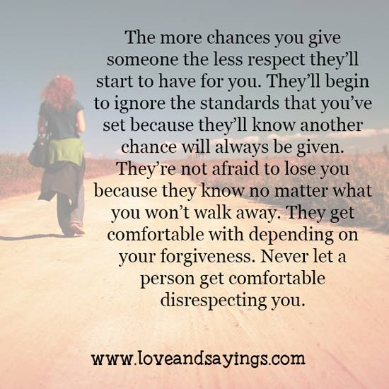 Giving Someone A Second Chance Quotes: The More Chances You Give Someone