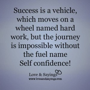 Success is a vehicle