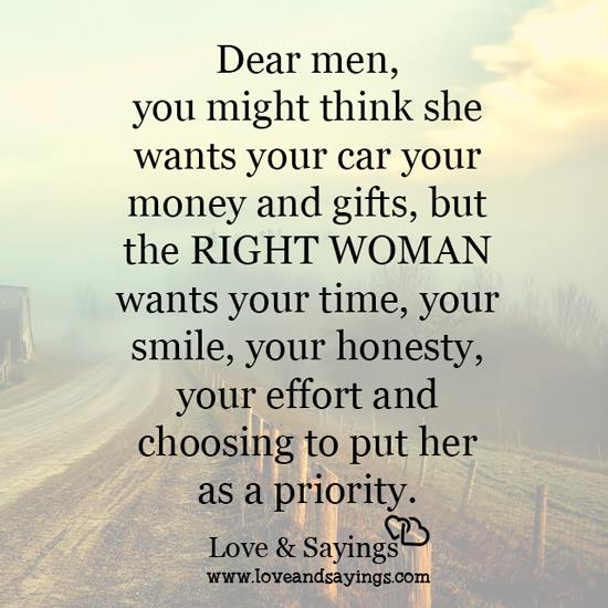 With The Right Woman Scarface Quote: Choosing To Put Her As A Priority