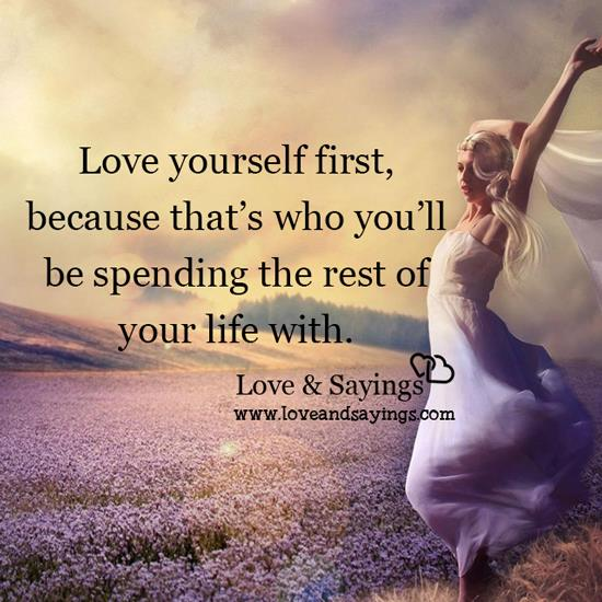 love yourself first love and sayings