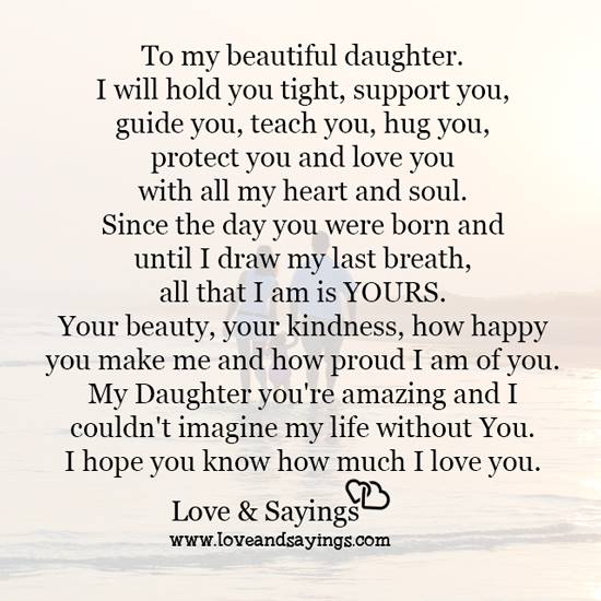 You Re Amazing Quotes: My Daughter You're Amazing