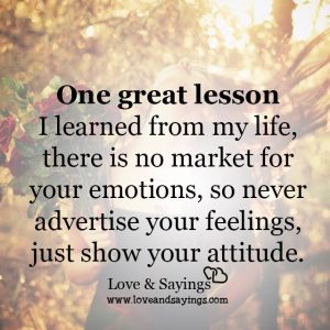 One Great Lesson