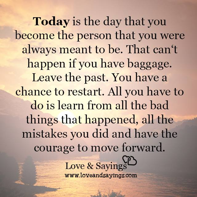 Courage To Love: The Courage To Move Forward