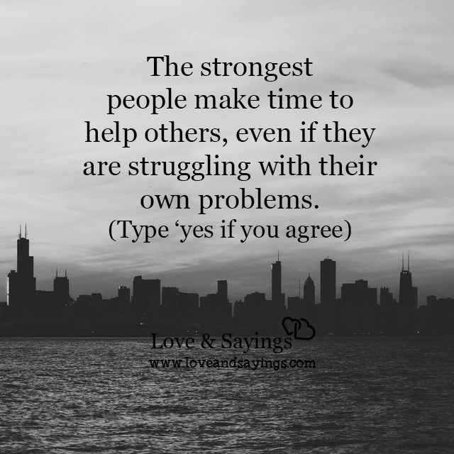 Struggling Love Quotes: Struggling With Their Own Problems