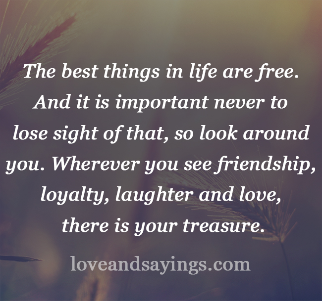 the best things in life are free Littlethings - the most popular collection of feel good stories & videos, delicious recipes and awesome diy projects.
