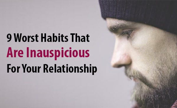 inauspicious for your relationship