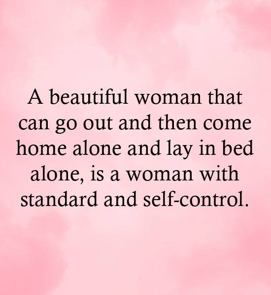 Woman with Standard
